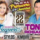 Tony Rosado en Stylos Kimbiri