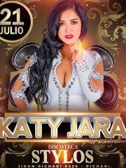 Katy Jara en Stylos Disco